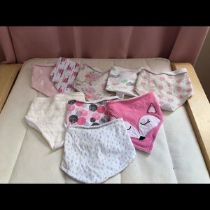 Other - Baby girl bandana bibs